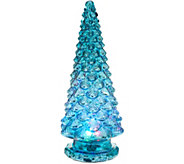 Mercury Glass Kaleidoscope Light Show 16 Tree by Valerie - H215595