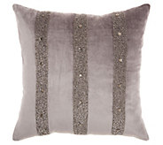 Inspire Me! Home Decor 18 x 18 Dark Grey Decorative Pillow - H303195