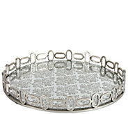 Rosa Mirrored Accent Tray by Valerie - H297996