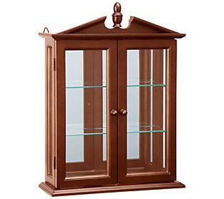 Design Toscano Amesbury Manor Curio Cabinet with