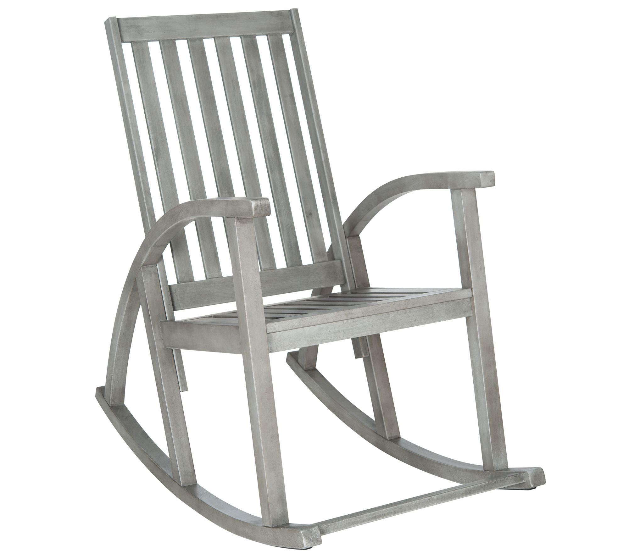 Brilliant Safavieh Clayton Rocking Chair Qvc Com Creativecarmelina Interior Chair Design Creativecarmelinacom