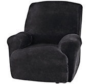 Sure Fit Stretch Plush 1-Piece Recliner Slipcover - H289797