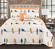 Rowley Birds Quilt 7-Piece King Quilt Set by Lush Decor - H295997