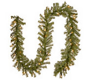 National Tree Company 9 Norwood Fir Prelit Garland - H303297
