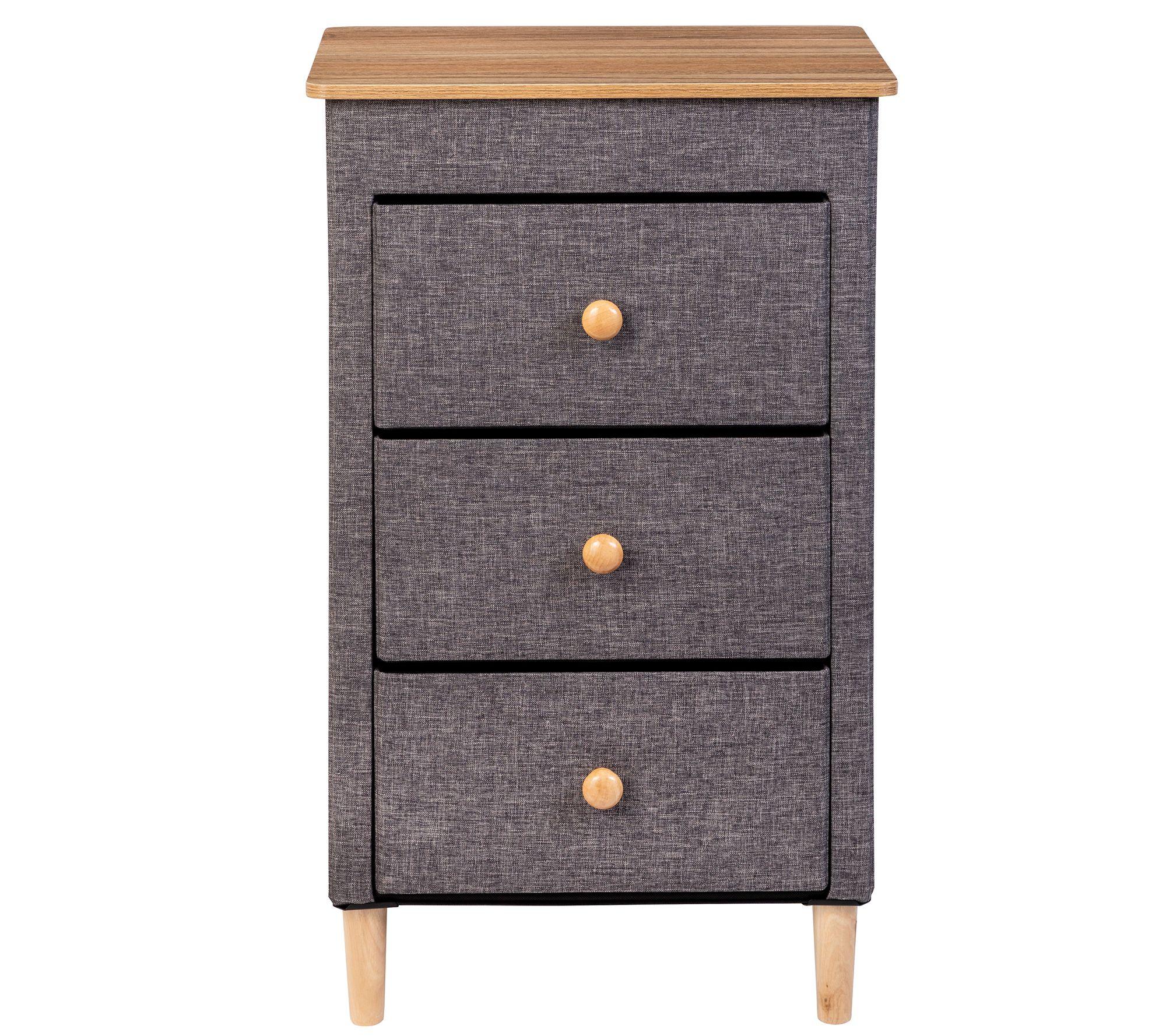 Honey Can Do 3 Drawer Fabric Storage Organizer Qvc Com