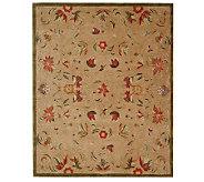 Anatolia 96x136 Beige Handtufted Oriental Wool Rug - H183598