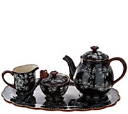 Temp-tations Floral Lace Tea Set - H208398