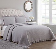 Inspire Me! Home Decor Adalyn Cal King 3-piece Quilt Set - H215498