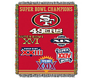 NFL Commemorative Woven Tapestry 48 x 60 - H290098