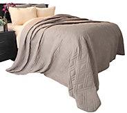 Lavish Home Solid Color King Quilted Blanket - H290798