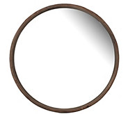 Thayne Round Wall Mirror by Valerie - H297998
