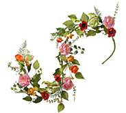 National Tree Company 5 Spring Flower Garland - H300498