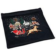 Quacker Factory Holiday 14 X 14 Pillowcase - H203999