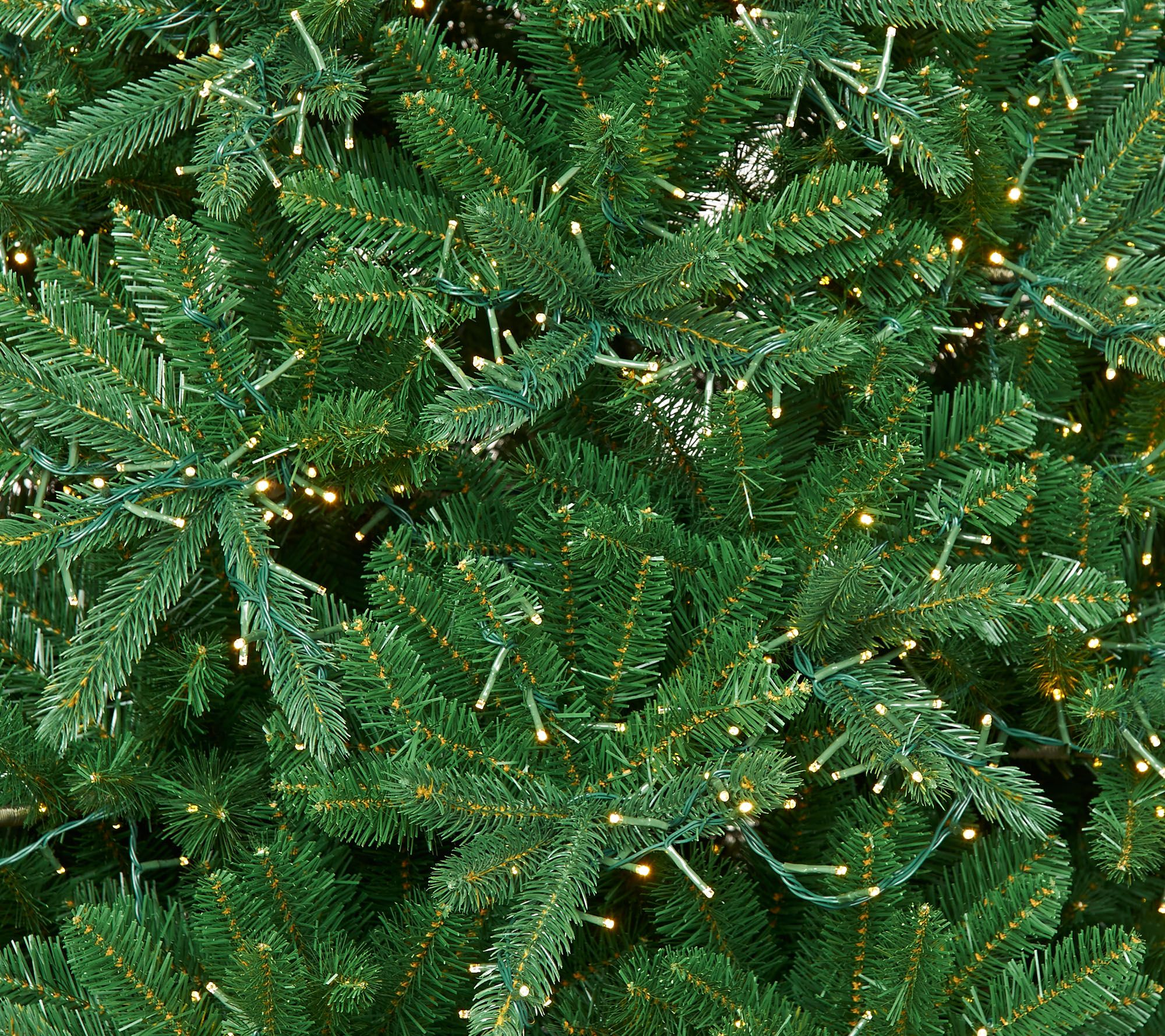 Santa S Best 7 5 Starry Light Microlight Tree W Flip Leds