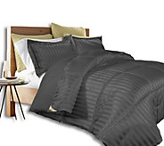 Kathy Ireland Home Damask Stripe FL/QN Comforter Set - H296699