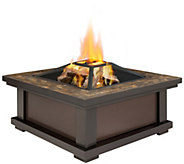 Real Flame Alderwood Wood-Burning Fire Pit - H301399