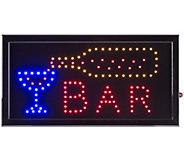 Lavish Home Bar LED Sign with Animation - H302399