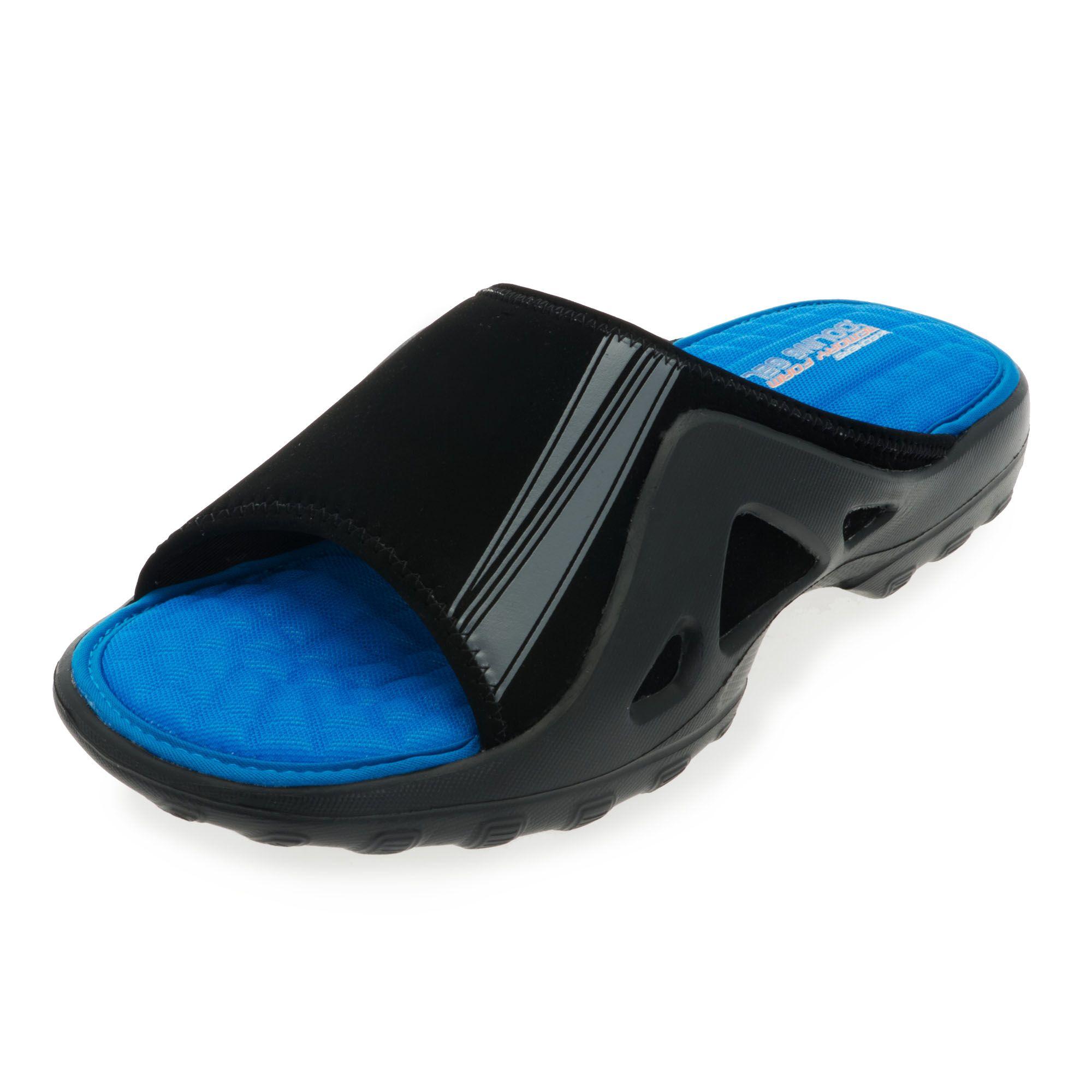 Skechers longboard ciabatta uomo da piscina con soletta in - Ciabatte da piscina ...