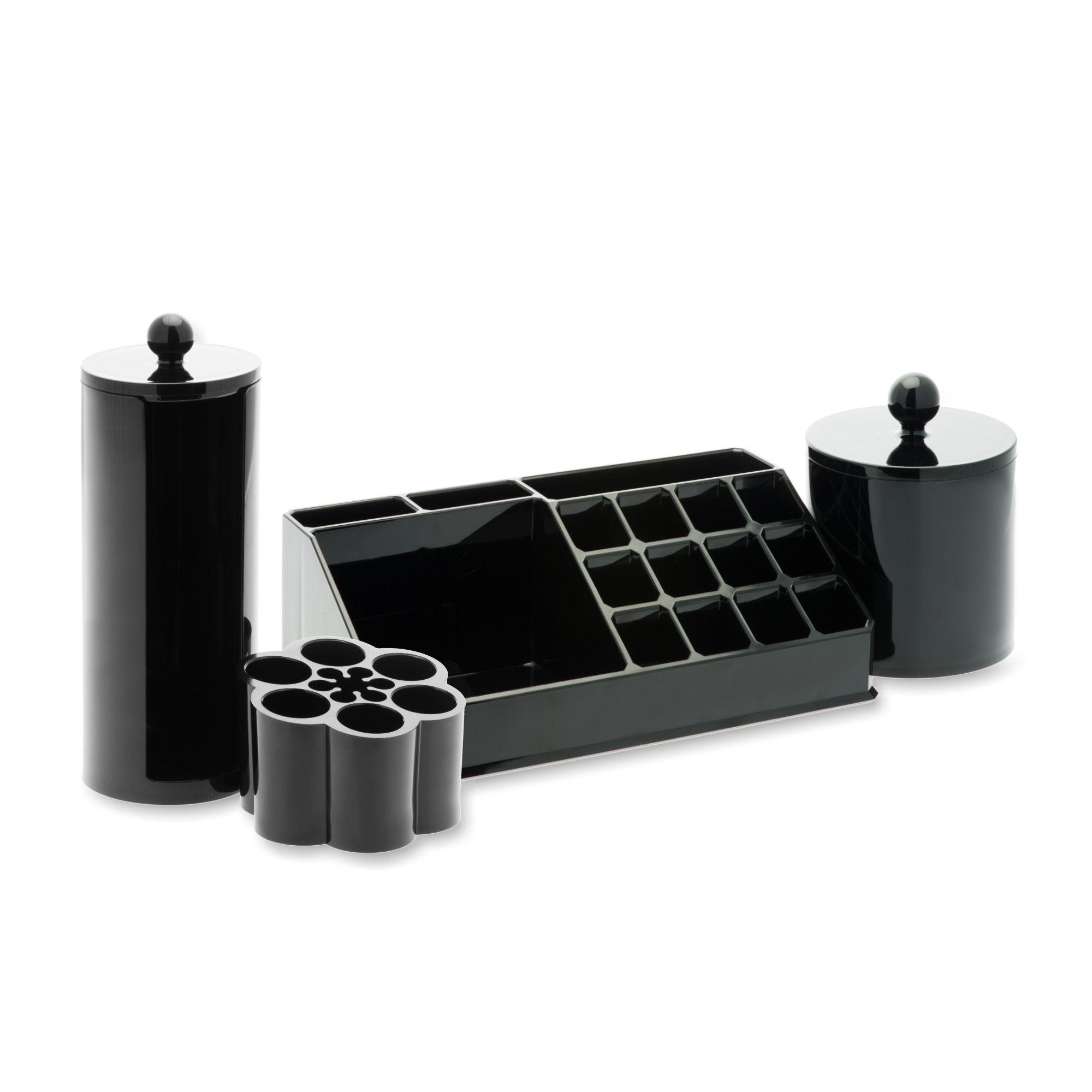 Compactor kit contenitori per trucchi 4 pz qvc italia - Trucchi per taglio piastrelle ...