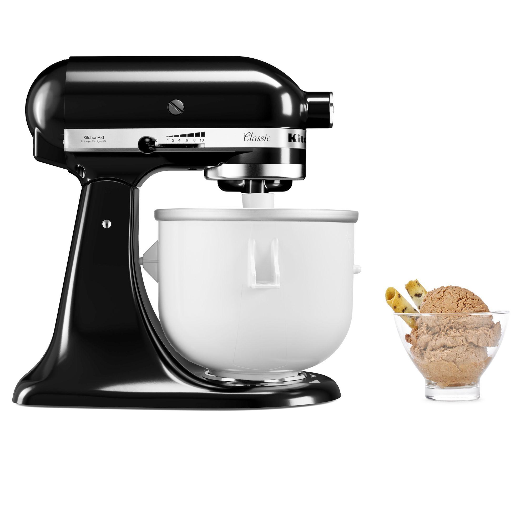 Kitchenaid accessorio per gelato con cestello refrigerante - Gelato kitchenaid ...