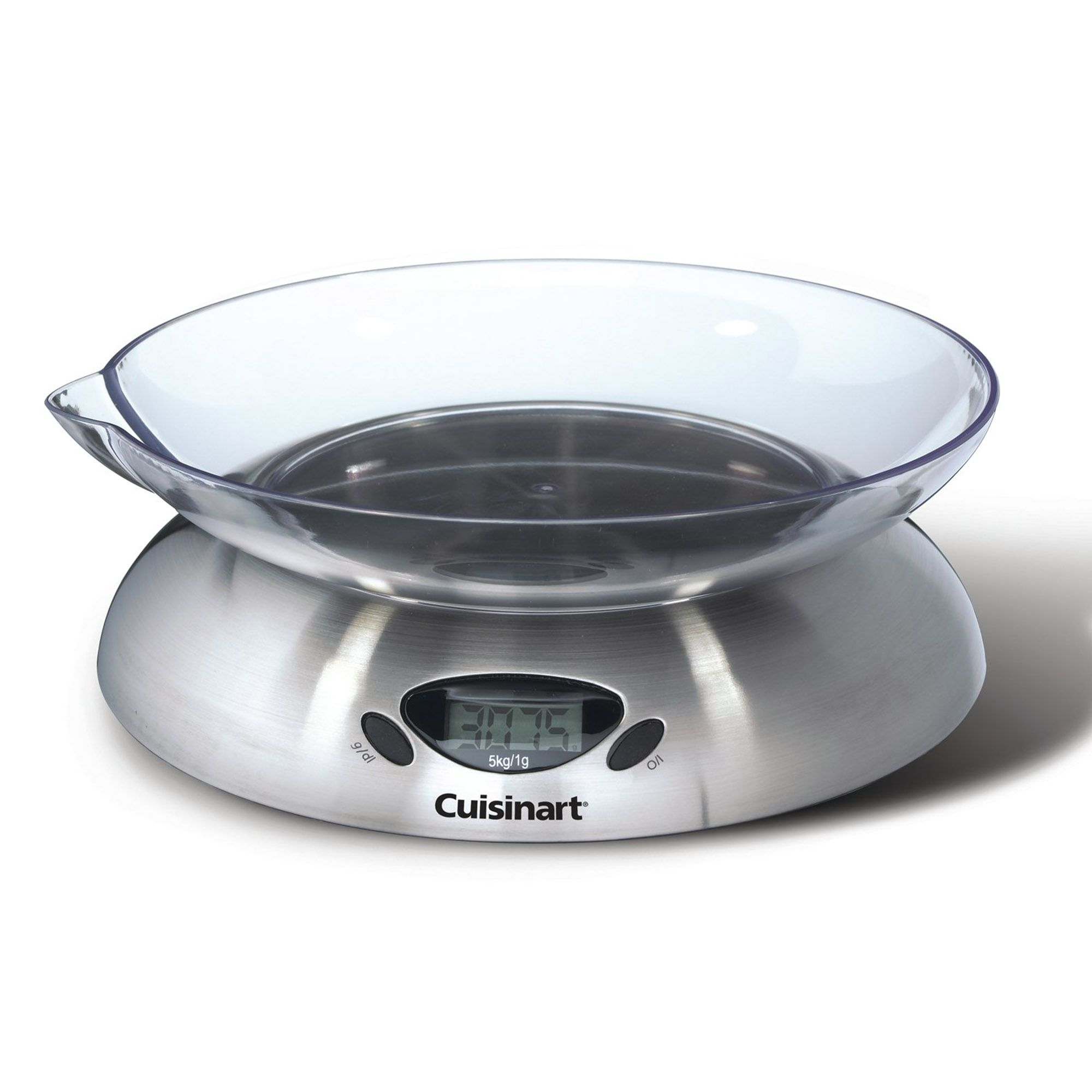 Cuisinart bilancia elettronica in acciaio con ciotola con - Qvc marchi cucina ...