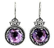 Artisan Crafted Sterling 10.00 ct tw Gemstone Earrings - J315100