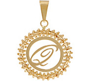 Imperial Gold Initial Pendant, 14K Gold - J352300