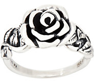 Or Paz Sterling Silver Rose Ring - J354300