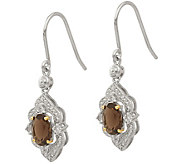 Sterling & 14K Gemstone & Diamond Dangle Earrings - J378100