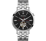 Bulova Mens Stainless Classic Automatic Watch - J378500