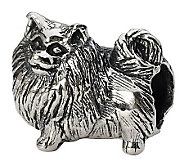 Prerogatives Sterling Side Glancing PomeranianBead - J299501
