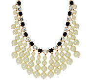As Is Isaac Mizrahi Live! Simulated Pearl Drop Necklace - J328701