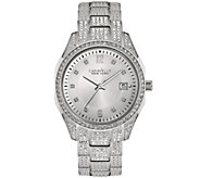 Caravelle New York Womens Crystal Watch - J344201