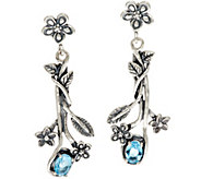 Or Paz Sterling Silver 1.20 Ct. Gemstone Dangle Earrings - J348701