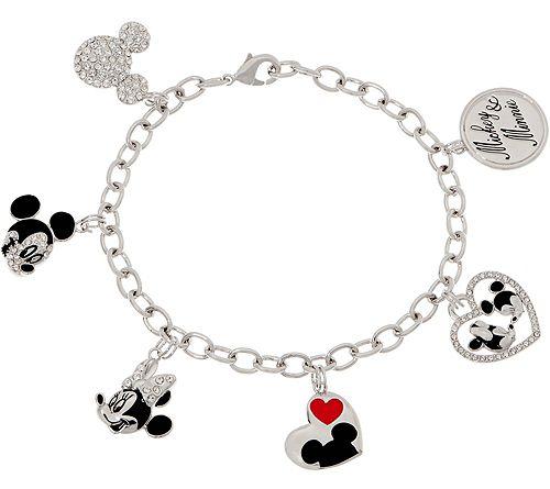 Mickey's 90th Birthday Mickey CharmBracelet
