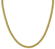 14K Gold 20 5.45mm Oval Wheat Chain, 13.0g - J384901