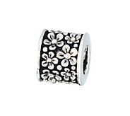 Prerogatives Sterling Flowers Bead - J108602