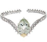 Barbara Bixby Sterling Silver &18K Gold Gemstone Cuff - J354002