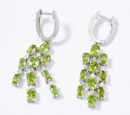 Gemstone Chandelier Earrings, Sterling Silver - J356502