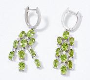 Gemstone Chandelier Earrings, Sterling Silver - J356502