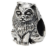 Prerogatives Sterling Birman Cat Bead - J299503