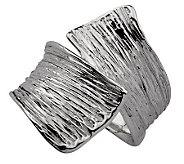 Hagit Gorali Textured Crossover Ring, Sterling - J305503