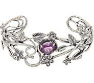 Or Paz Sterling Silver 2.00 Ct. Gemstone Cuff - J349103