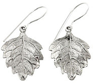 Novica Artisan Crafted Sterling Enchanting Fall Earrings - J307504