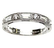 Judith Ripka Sterling 1.20 cttw Diamonique Ring - J308804