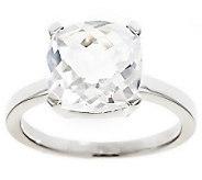 Sterling 3.10 cttw Cushion Cut Gemstone Ring - J309004