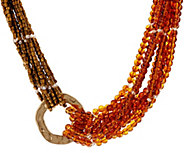 Susan Graver Multi Layered Beaded Necklace - J349104