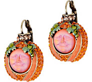 Kirks Folly Evermore Seaview Moon Pumpkin Earrings - J351504