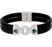 Judith Ripka Sterling Gemstone Heart Bracelet - J352304