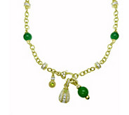 Judith Ripka 14K Gold-Clad Gemstone & Diamonique 18 Necklace - J377904